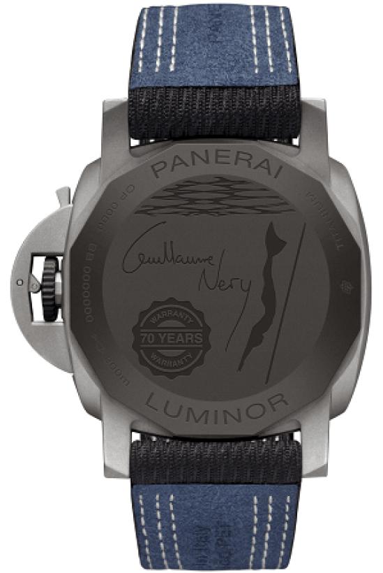 Panerai Luminor Marina 44mm − Guillaume Néry Edition (PAM01122)