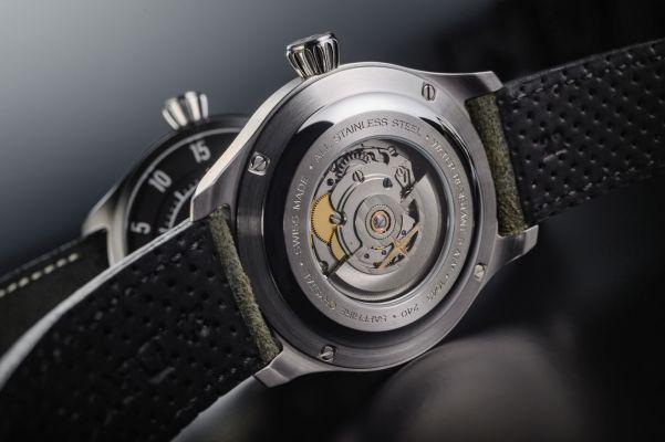 DAVOSA Newton Speedometer Automatic watch caseback