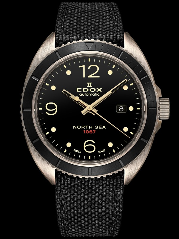 Edox North Sea 1967 Automatic Historical Limited Edition