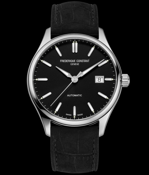 Frederique Constant Classics Index Automatic Black dial Reference FC-303NB5B6