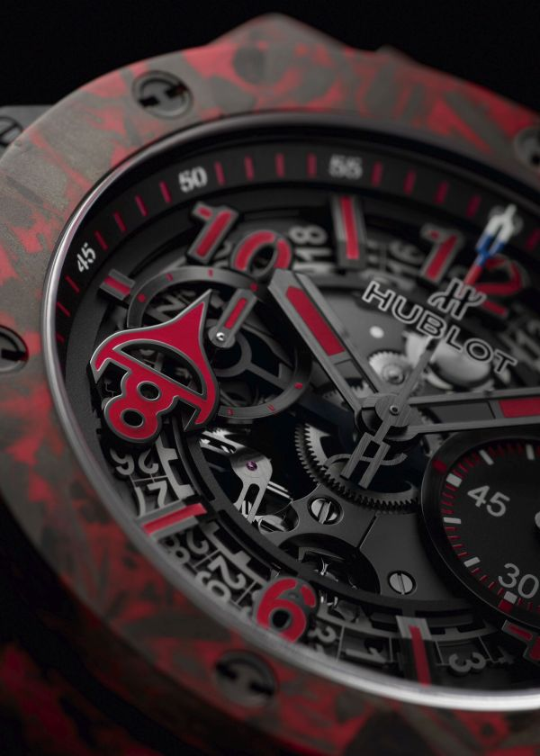 Hublot Big Bang Unico Red Carbon Alex Ovechkin Limited Edition