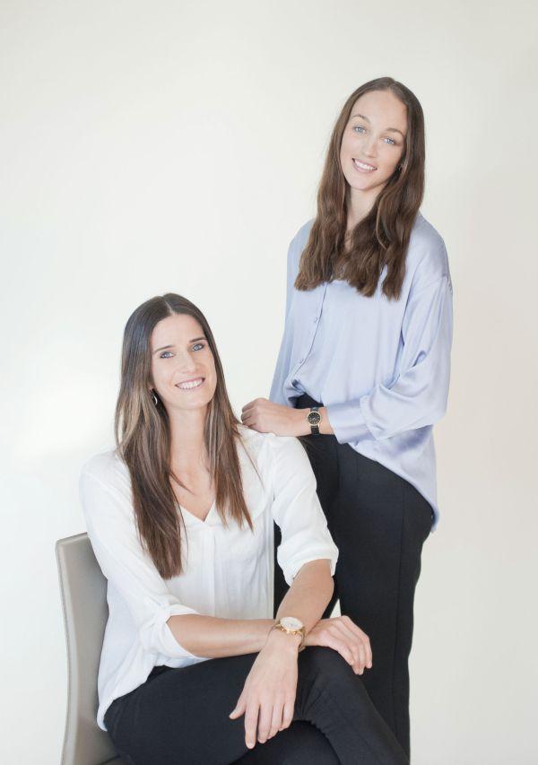 Joana Heidrich and Anouk Vergé-Dépré