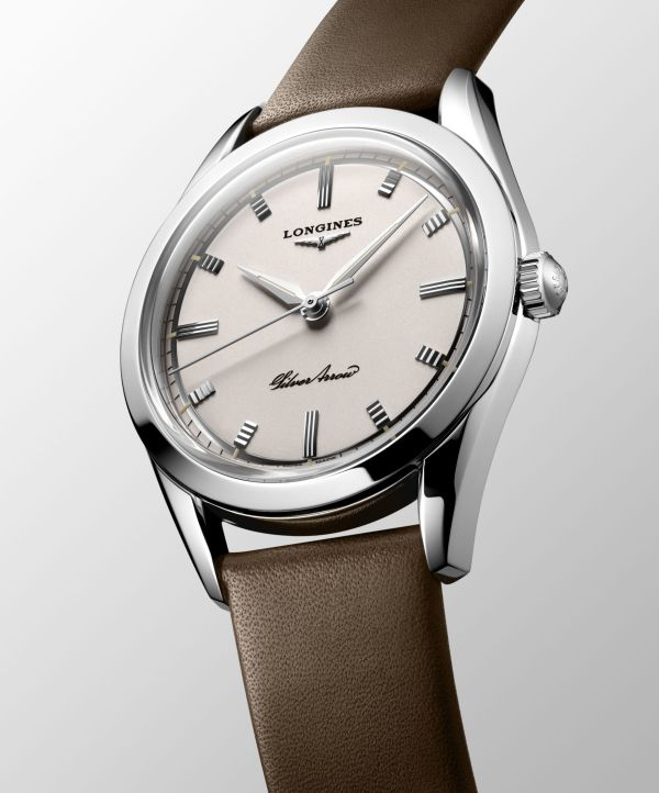 Longines Silver Arrow automatic watch