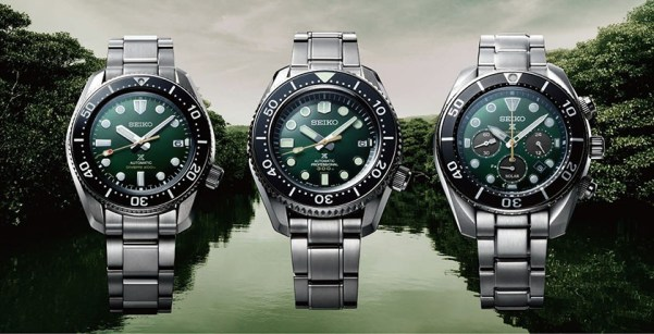 Seiko Prospex diver's watches inspired by the island of Iriomote (SPB207, SLA047 and SSC807)