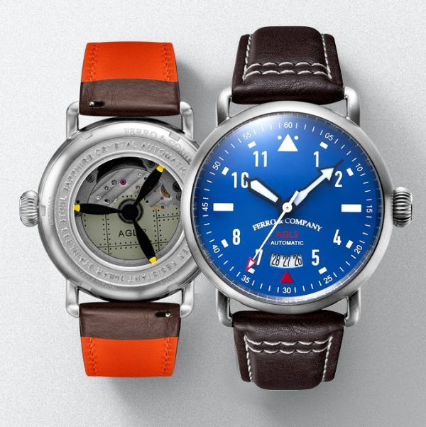 AGL2.0 Watch with Myiota Automatic movement 9015 -2