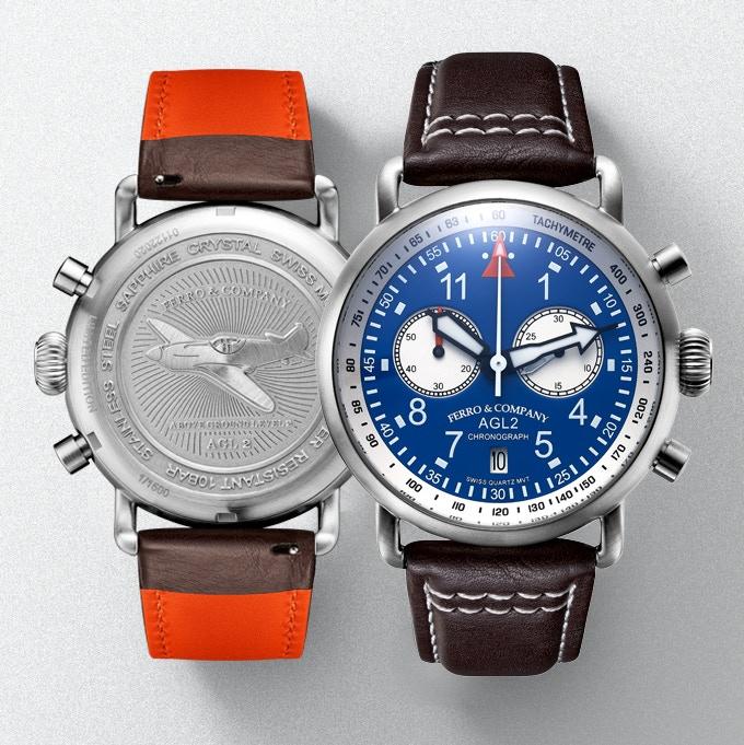 Ferro &Co AGL 2.0 Chronograph with Ronda Quartz movement 3