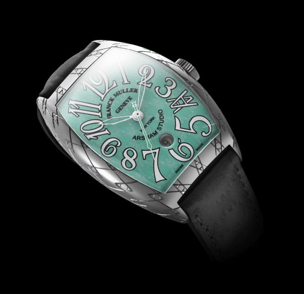 Franck Muller Casablanca Limited Edition Bamford Watch Department x Arsham x King Nerd