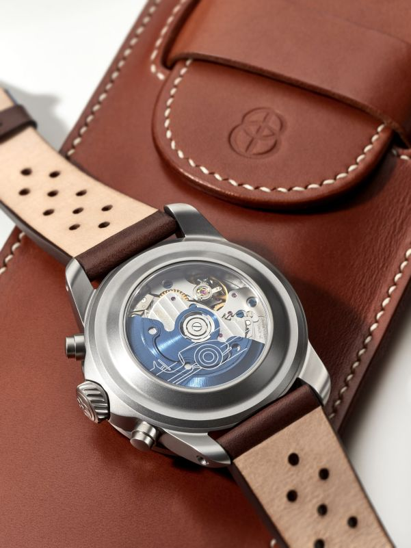 BOHEMATIC AERO MINOR watch case back view
