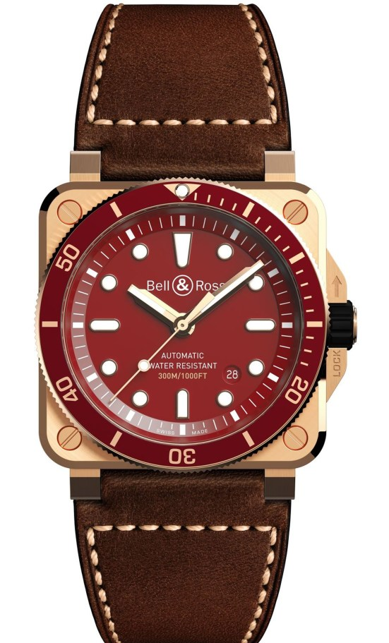 BR 03-92 Diver Red Bronze Limited Edition