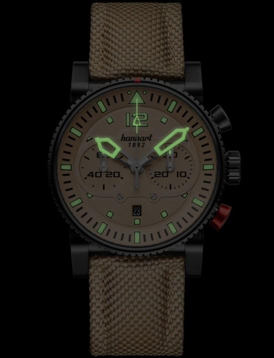 Hanhart PRIMUS Desert Pilot Dark Limited Edition