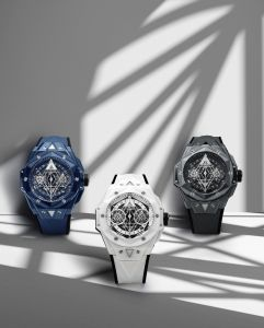 Hublot Big Bang Sang Bleu II – Grey, Blue and White Ceramic Limited Editions