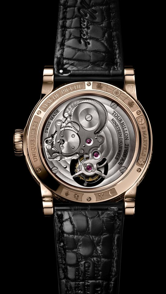Louis Moinet 8 Marvels of the World - Machu Picchu