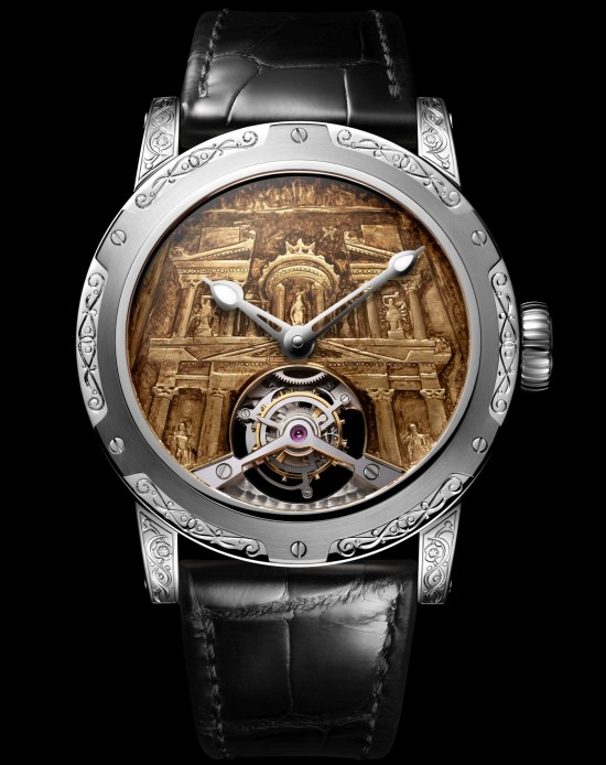 Louis Moinet 8 Marvels of the World - Petra