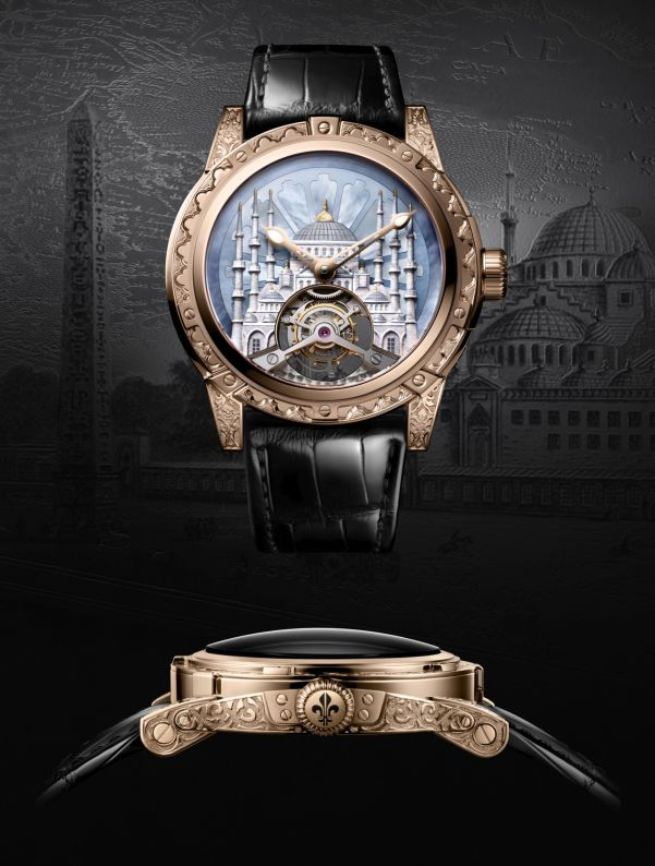 Louis Moinet 8 Marvels of the World - The Blue Mosque