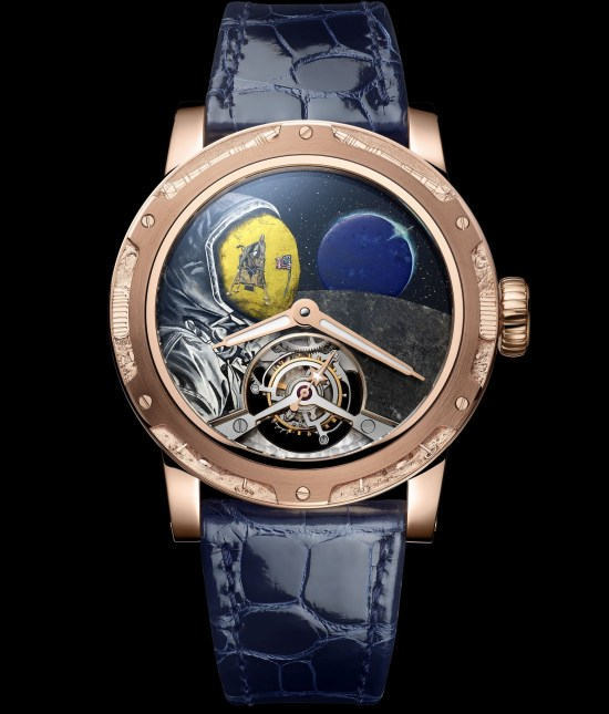 Louis Moinet Moon Race watch, Man on the Moon - 1969