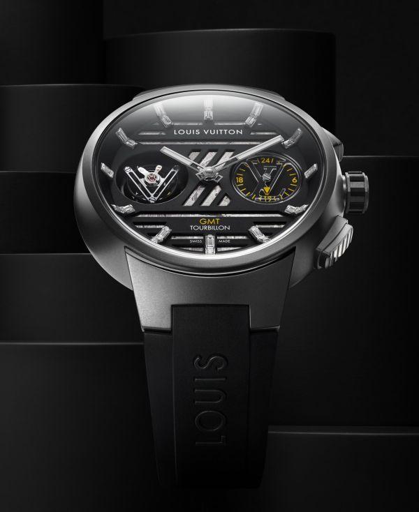 Louis Vuitton Tambour Curve GMT Flying Tourbillon