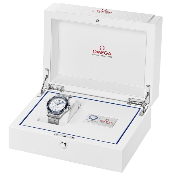 OMEGA Seamaster Diver 300M Tokyo 2020 Special Edition