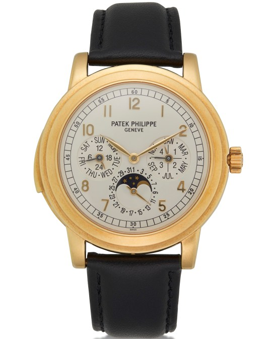 Patek Philippe Minute Repeater Perpetual Calendar in Yellow Gold, Ref.5074J