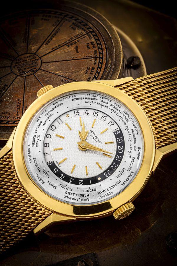 Patek Philippe Two-crown World Time Ref. 2523-1