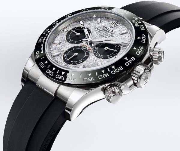 Rolex Oyster Perpetual Cosmograph Daytona, Reference 116519 LN, 18 Carat White Gold Case and Metallic Meteorite Dial