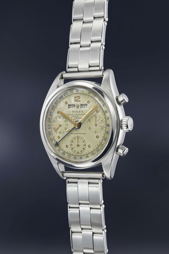 Rolex Reference 6036 retailed by Joyeria Riviera