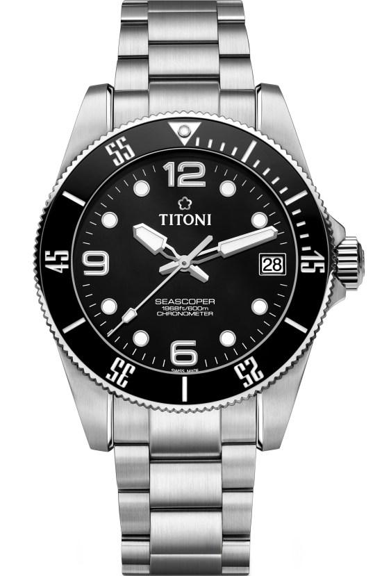 TITONI Seascoper 600 meter dive watch