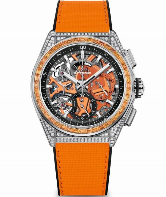 Zenith DEFY 21 Spectrum Orange, Reference: 32.9005.9004/05.R944