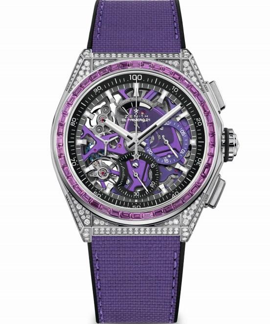 Zenith DEFY 21 Spectrum Purple, Reference: 32.9007.9004/07.R922