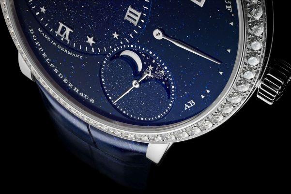 A. Lange & Söhne Little Lange 1 Moon Phase diamond set white gold case