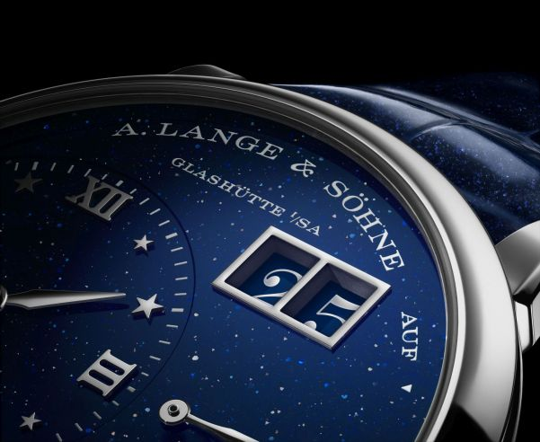 A. Lange & Söhne Little Lange 1 Moon Phase watch with large date display