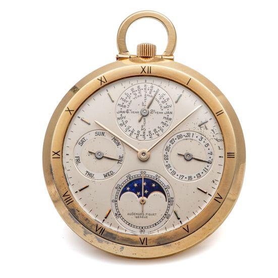 Audemars Piguet Perpetual Calendar Pocket Watch, Ref. 5501