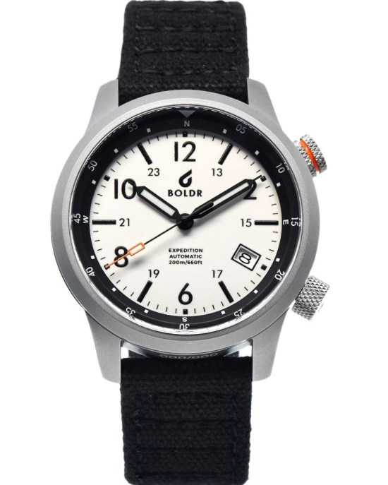 BOLDR Expedition Field Eiger watch