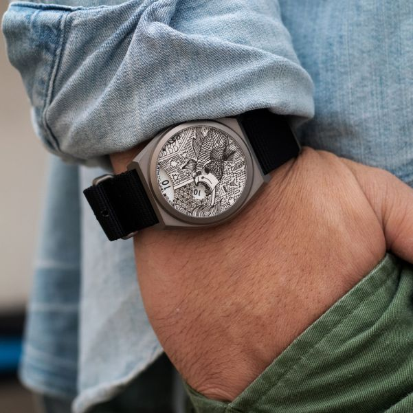 BOLDR Venture X Art Story Watch, In Partnership with the Autistic Thai Foundation