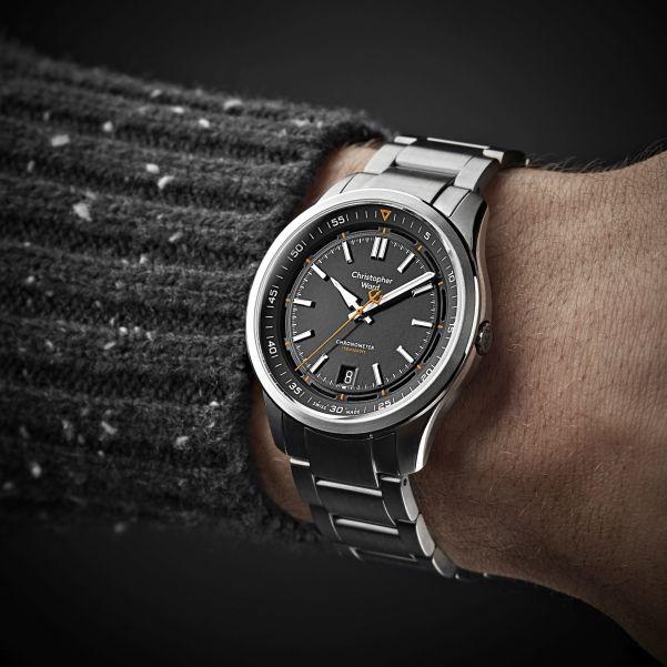 Christopher Ward C63 Sealander Elite Automatic watch