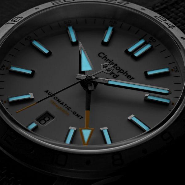 Christopher Ward C63 Sealander GMT automatic watch