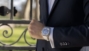 Franck Muller Vanguard Yachting Crazy Hours watch