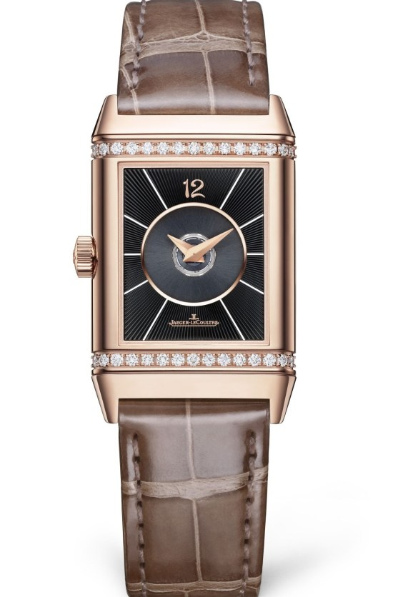 Jaeger-LeCoultre Reverso Duetto Medium pink gold watch