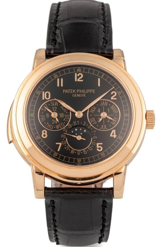 Patek Philippe Ref. 5074R, Perpetual Calendar Minute Repeater in Pink Gold