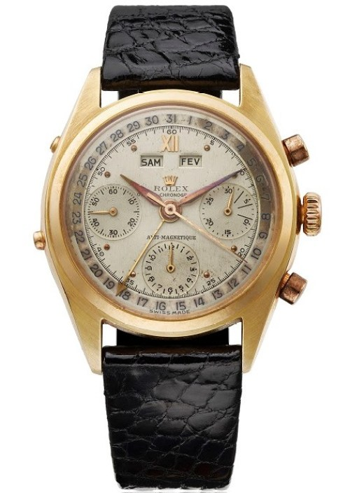 Rolex 'Jean-Claude Killy' reference 6036 in yellow gold, circa 1953