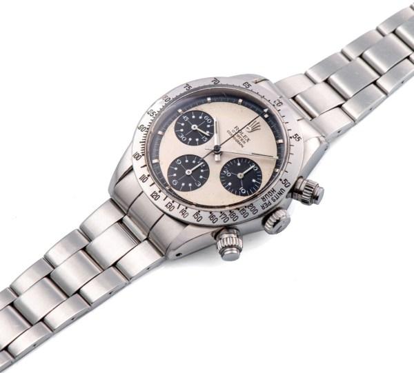 Rolex Ref. 6265, Cosmograph Daytona, Paul Newman Oyster Panda MK2, Steel. Estimate: CHF 180,000 - 280,000/ HKD 1,440,000 - 2,240,000/USD 180,000 - 280,000.