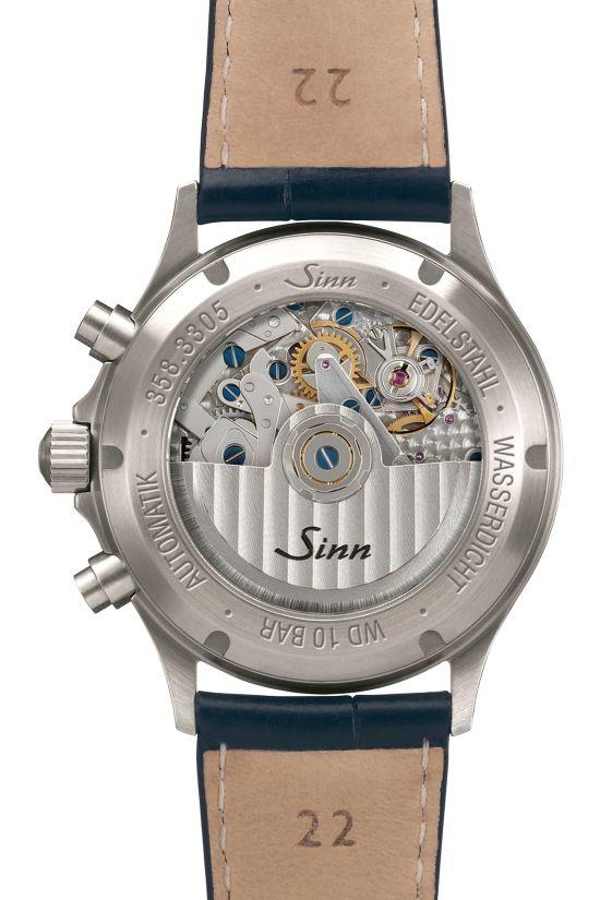 SINN 358 Sa PILOT DS Chronograph (with grinding dial)