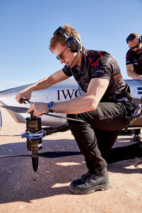 IWC and Airspeeder Announce Engineering and Timekeeping Partnership