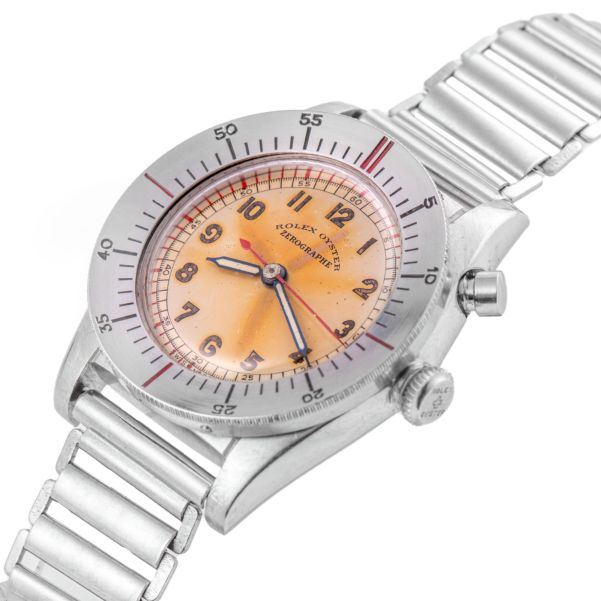 LOT 292: Rolex, Ref. 3346, Zerographe, Steel