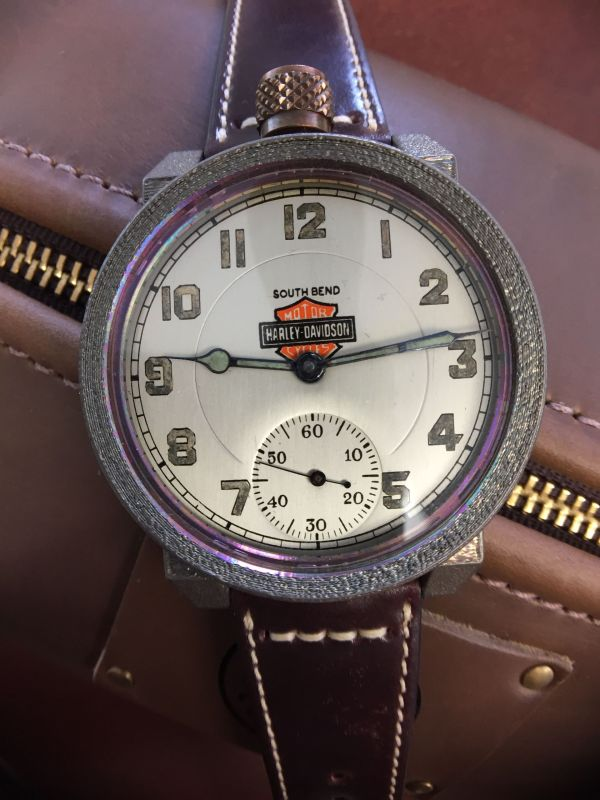 Vortic Watch Company Presents a Unique Wristwatch Made From a Vintage Harley Davidson Pocket Watch