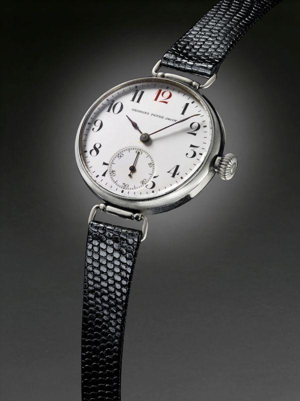 zenith first wristwatch