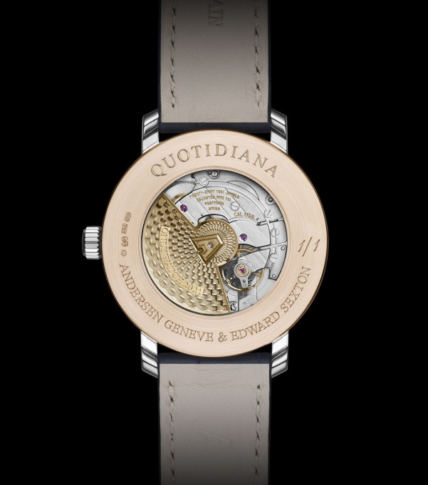 Andersen Genève Quotidiana Only Watch 2021 (unique piece in collaboration with Edward Sexton)