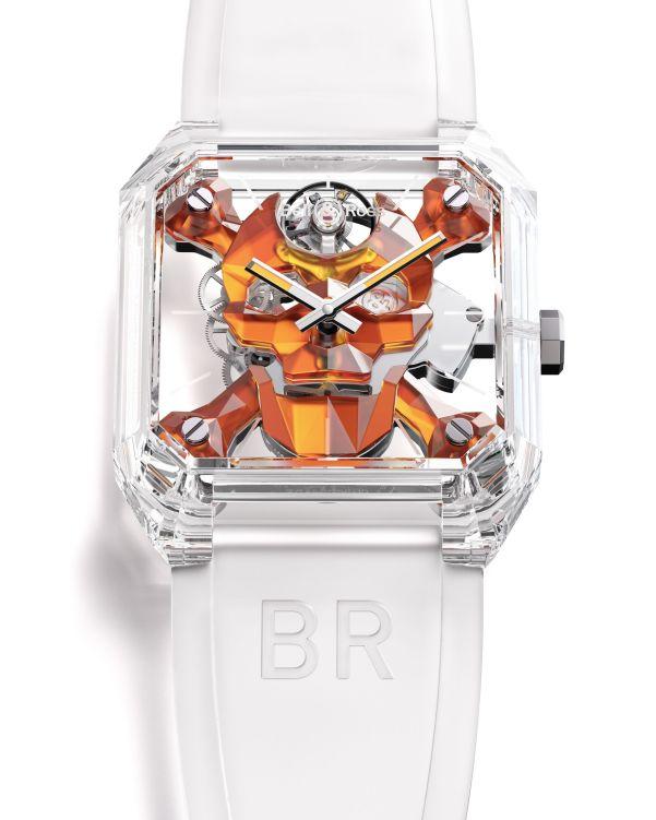 Bell & Ross BR 01 Cyber Skull Sapphire Only Watch 2021