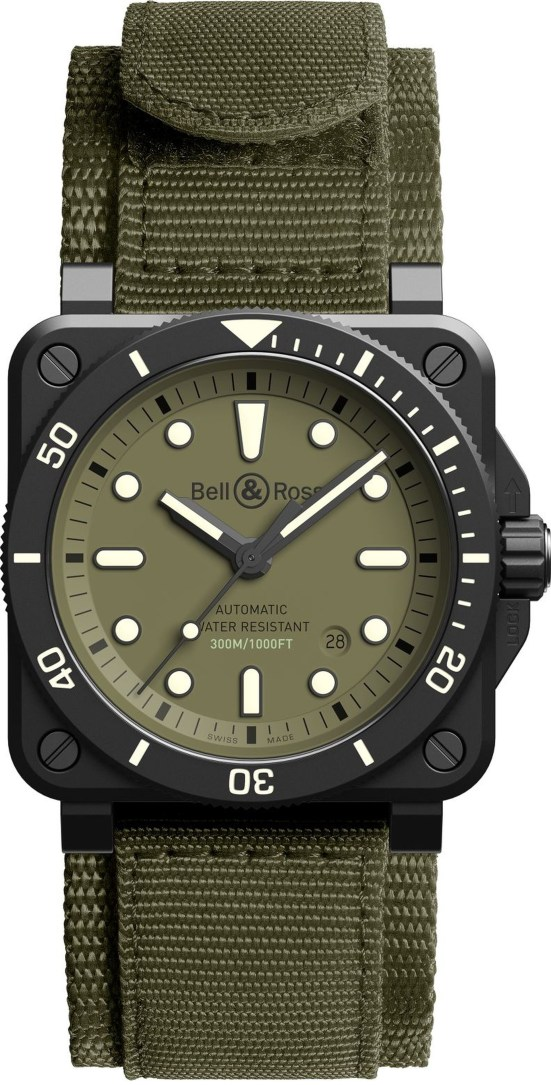 Bell & Ross BR 03 Diver Military Limited Edition