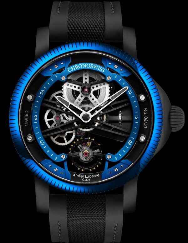 Chronoswiss SkelTec Azur Limited Edition watch