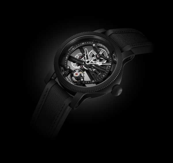 Chronoswiss SkelTec Pitch Black Limited Edition